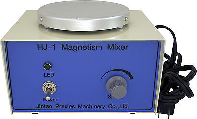 Hj-1 Magnetic Stirrer W 25mm Stir Bar 0-2400 Rpm Stepless Speed 110v120v Lab