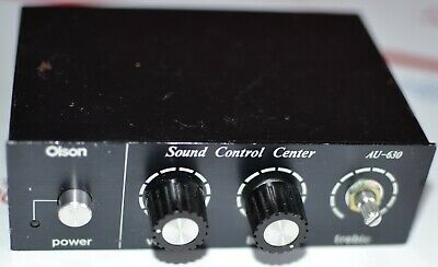 Olson Sound Control Center AU-630