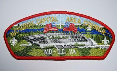 National Capital Area Council- Pentagon- DC Landmark -Council Shoulder Patch