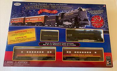 EzTec North Pole Express Christmas Train Set, Battery Operated