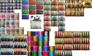 Variety of Indian Bangles - in various styles & sizes