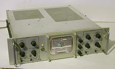 Tektronix Rm 529 Waveform Monitor Vintage