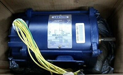 Newleeson 111940.00 3 Phase Electric Motor 13hp 1140950rpm-208230vac