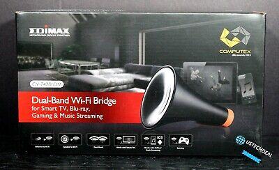 Edimax CV-7438nDM Dual-band Wireless Bridge Wireless Speaker Adapter @NEW@ comprar usado  Enviando para Brazil
