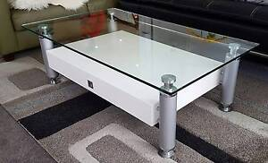 Excellent Condition Glass Top Coffee Table Lane Cove North Lane Cove Area Preview