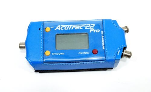 Accutrac 22 pro satellite signal meter NEEDS NEW BATTERY