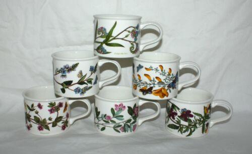 6 Portmeirion Botanic Garden Various Motifs Mugs/Cups