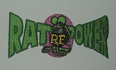 "OFFICIALLY LICENSED ED ""BIG DADDY"" ROTH RAT FINK RAT POWER HOT ROD RACER PATCH"