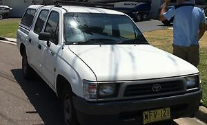 1999 Toyota Hilux Ute Wolli Creek Rockdale Area Preview