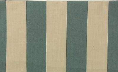 SUNBRELLA CANVAS STRIPE SPA BLUE VELLUM OUTDOOR INDOOR FABRIC BY THE YARD 54