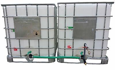 2-fach Dn 50 Ibc Rain Tank Connector With Swan Neck