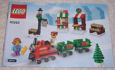 Lego 40262 Original Instruction Manual / Booklet Christmas Train Set