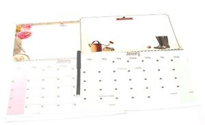 1x 2019 New Hanging Wall Calendar Planner Family Organiser With Pen