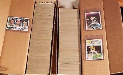 1980 &1982 Topps Baseball Complete Set lot of 2 Henderson Ripken Rc Stars Sharp
