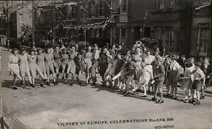 Wolverton. WW2 Victory in Europe Celebrations NOT A POSTCARD.