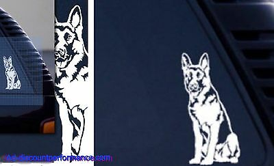 German Shepherd Dog ~ High Quality Vinyl Dog Window Decal Sticker