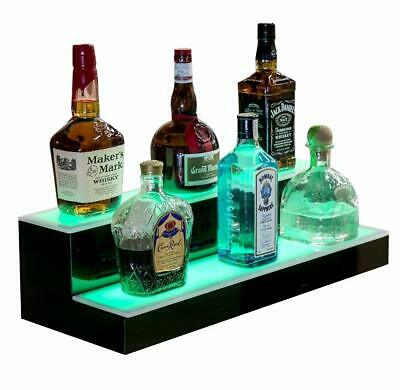 16 2 Led Liquor Bottle Display Shelf Wine Rack Bar Supply Stand Wireless Remote