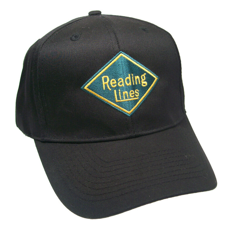 Reading Lines Railroad Embroidered Cap Hat #40-0040