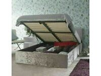 NEW Charlie ottoman storage bed in Double size----Optional mattress----