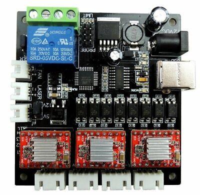 Grbl Laser Controller Board Mini Engraving Machine Cnc Usb 3 Axis Stepper Motor