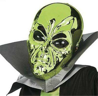 Costume Space Martian Alien Includes Robe & Mask Kids Size Small
