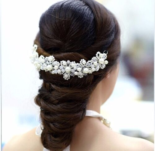 Crystal head wear wedding hairband wedding crowns Tiaras Bridal Accessories