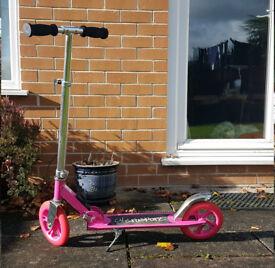 Pink Ultrasport Junior Scooter - For Older Child