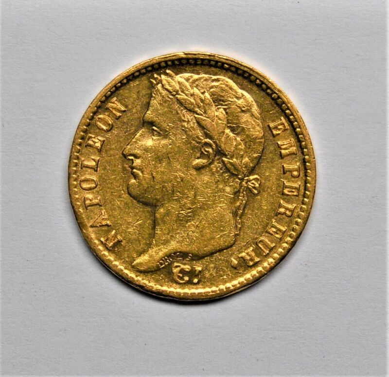 1811 FRENCH GOLD 20 FRANCS NAPOLEON AU