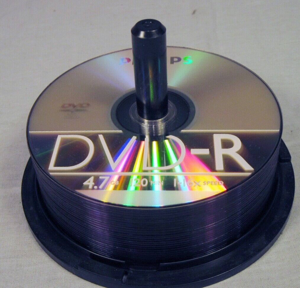 lot of 26 blank dvd r dvdr