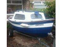 15 foot Mayland fishing boat