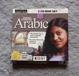Instant Immersion Arabic 2 CD Set