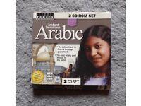 Instant Immersion Arabic 2 CD Set