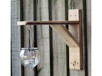 Hand-Made Garden Suspended TEA LIGHT CRADLE