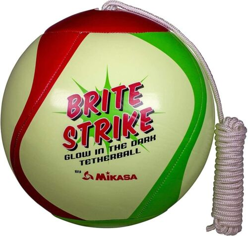 Mikasa Glow in the Dark Outdoor Tetherball Green Red
