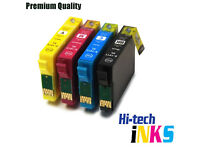 4x Epson Compatible Ink Cartridges for E T1816 (E T1811 T1812 T1813 T1814)