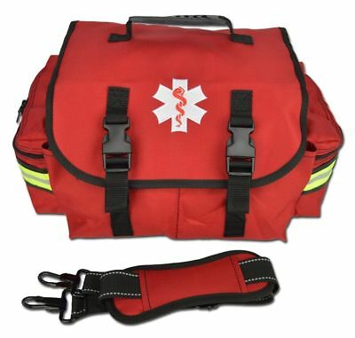Red Lightning X Small First Responder Bag W Dividers Medical Trauma First Aid
