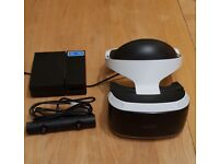 PSVR AND CAMERA SET FOR PS4 Sony PlayStation 4 VR Boxed