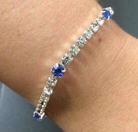 Womens Saphire Bracelet's