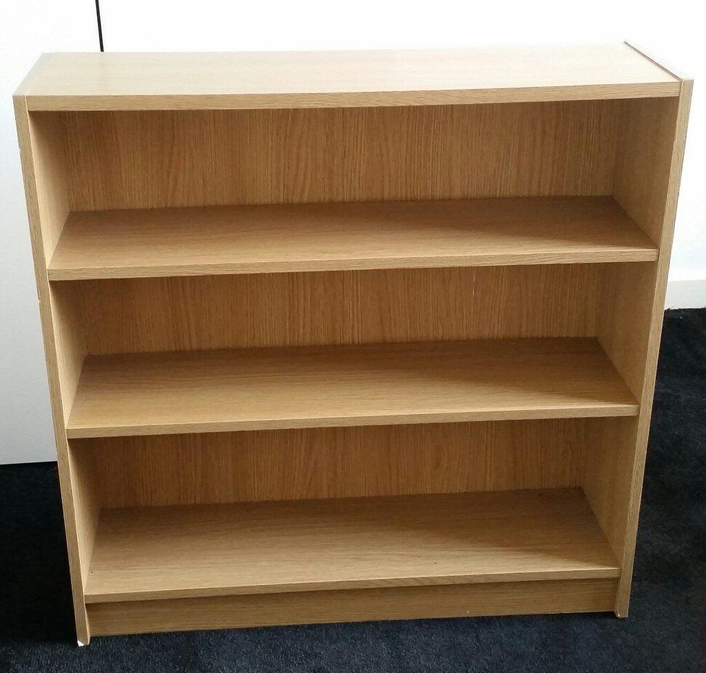 bookcase, 80cm x 79cm x 24cm. In very good condition.