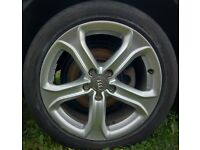 Alloy Wheels 225/45/17 5x112 Audi VW Skoda Seat
