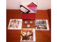 Boxed Nintendo 3DS XL with 6 games