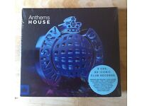 ANTHEMS HOUSE – MINISTRY OF SOUND - 3 CDS - 60 ICONIC CLUB RECORDS (BRAND NEW IN SHRINKWRAP)