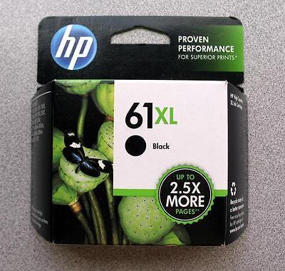 HP #61XL Black Ink Cartridge CH563WN GENUINE NEW