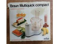 Braun Multiquick Compact Food Processor