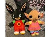 Bing and Sula talking toys