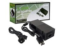 x one power ac adapter for xox one new in box.