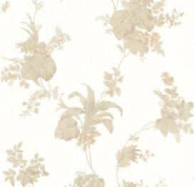 Brewster Home Fashions La Belle Maison Frond Leaf Trail Wallpaper 10 ROLLS AVAILABLE