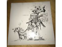 Ninja and da nice time kid vinyl- new and never played before