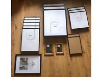 16 Picture Frames ( Various Sizes)