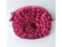 Ladies Fuchsia Pink Handbag Hand Bag